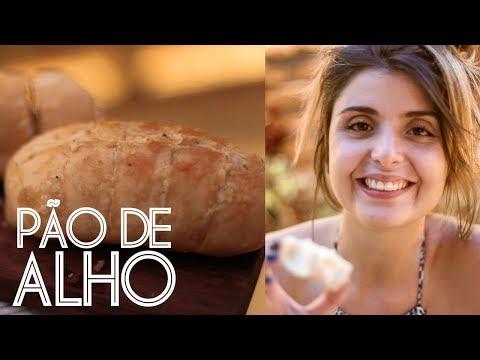PÃO DE ALHO CASEIRO (super fácil e barato) | Receitas da Luanda