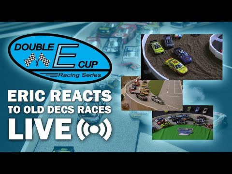 Eric Reacts To Old DECS Stop Motion Races LIVE