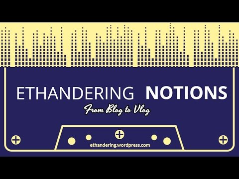 BlogToVlog Trailer Video | Ethandering Notions