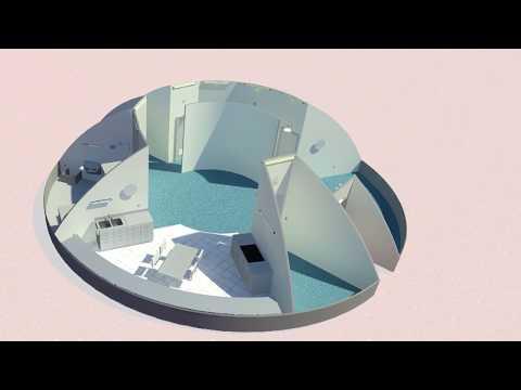 Northwestern University - Phase 3: Level 1 of NASA's 3D-Printed Habitat Challenge