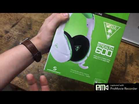 Turtle Beach Stealth 600 White Wireless Surround Sound Gaming Headset Review, Comfortable fit, amazi
