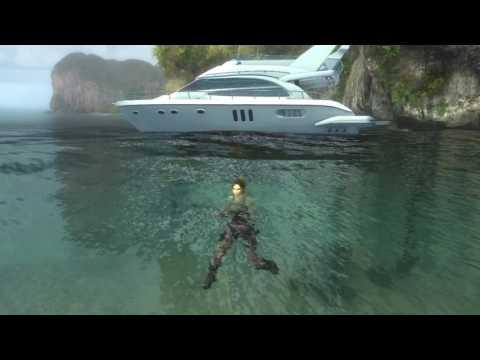 Живые обои - Lara Croft