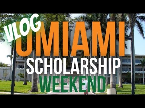 University of Miami Schoalrship Weekend VLOG (Hammond Schola