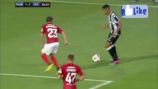 PAOK VS SPARTAK MOSCOW Champions league Quali Highlights 08.08.2018