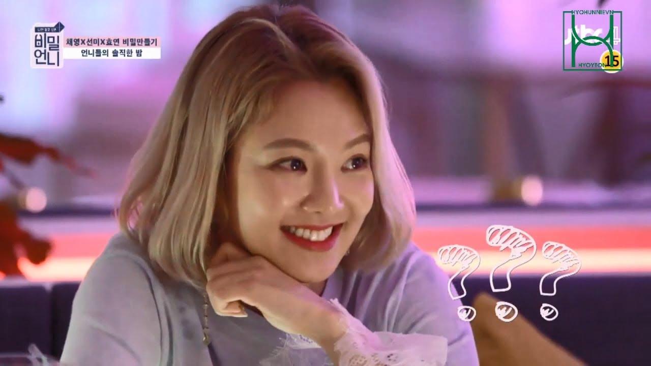 [Vietsub] 180629 Hyoyeon x Sunmi x Chaeyoung - JTBC Secret Unnie (비밀언니) Ep  9 Hyoyeon Focus