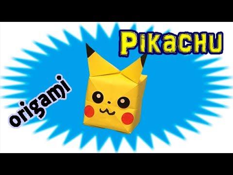 Origami Pikachu Tutorial - How to Make a Paper Pokemon Pikachu ... | 360x480