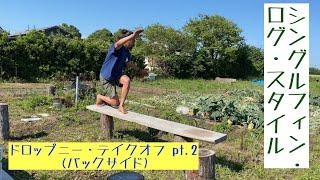 ドロップニー・テイクオフ pt.2 (シングルフィン・ログ・スタイル)
