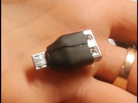 Как сделать переходник для флешки на телефон фото 793
