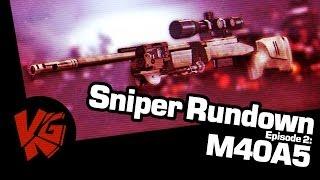 Sniper Rundown - M40A5 Bolt Action Review - Battlefield 4 !
