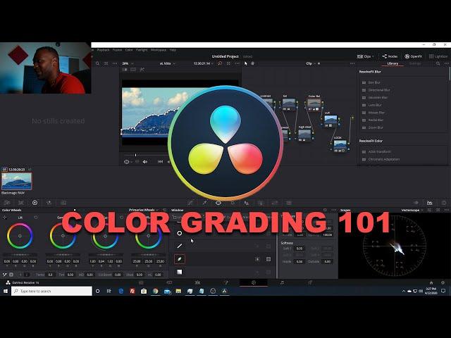 Davinci Resolve 16.2 | Color Grading Tutorial | Dat Viva Guy | 2020