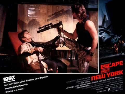 Soundtrack ~ John Carpenter ~ Escape From New York (1981) ~ 04 ~ Over The Wall - Air Force One