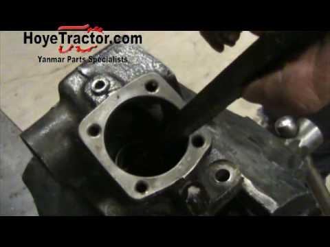 massey ferguson 135 parts diagram doorbell schematic yanmar tractor steering box rebuild - part 1 youtube