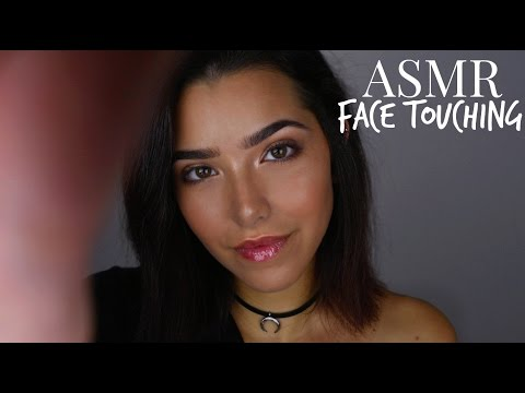 ASMR Face Touching + Hand movements