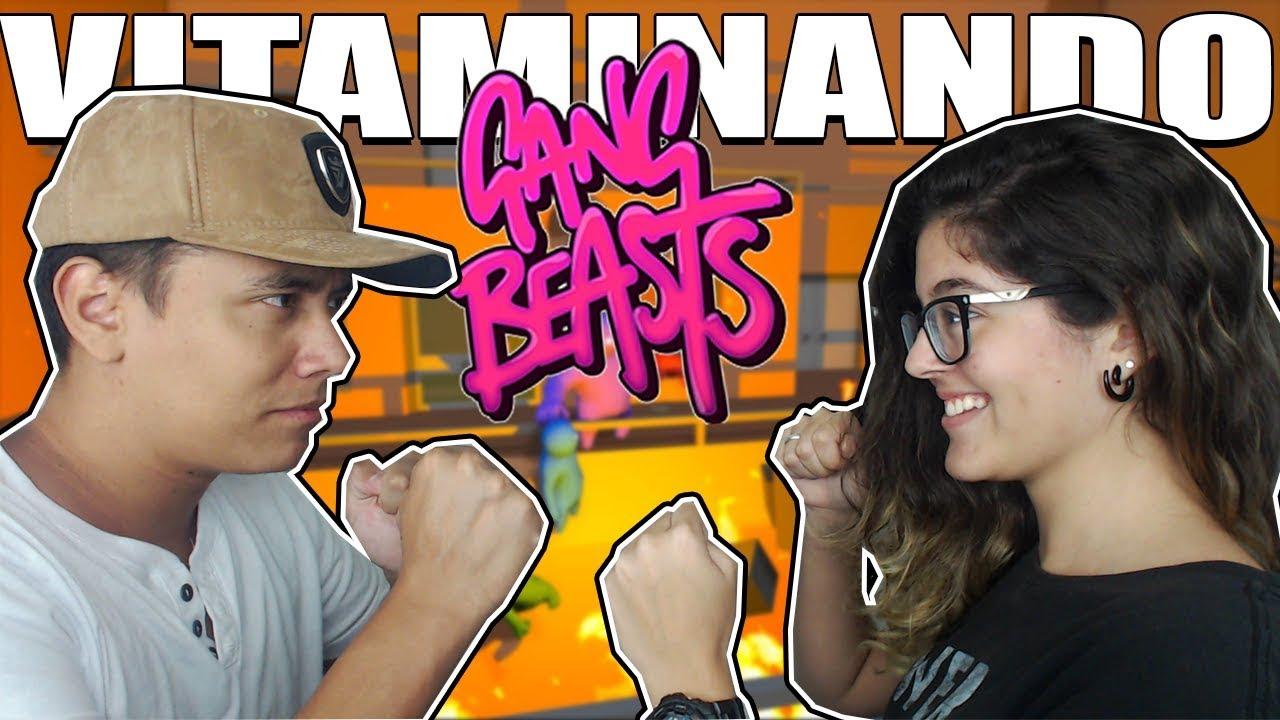 BRIGA DE NAMORADOS - Gang Beasts