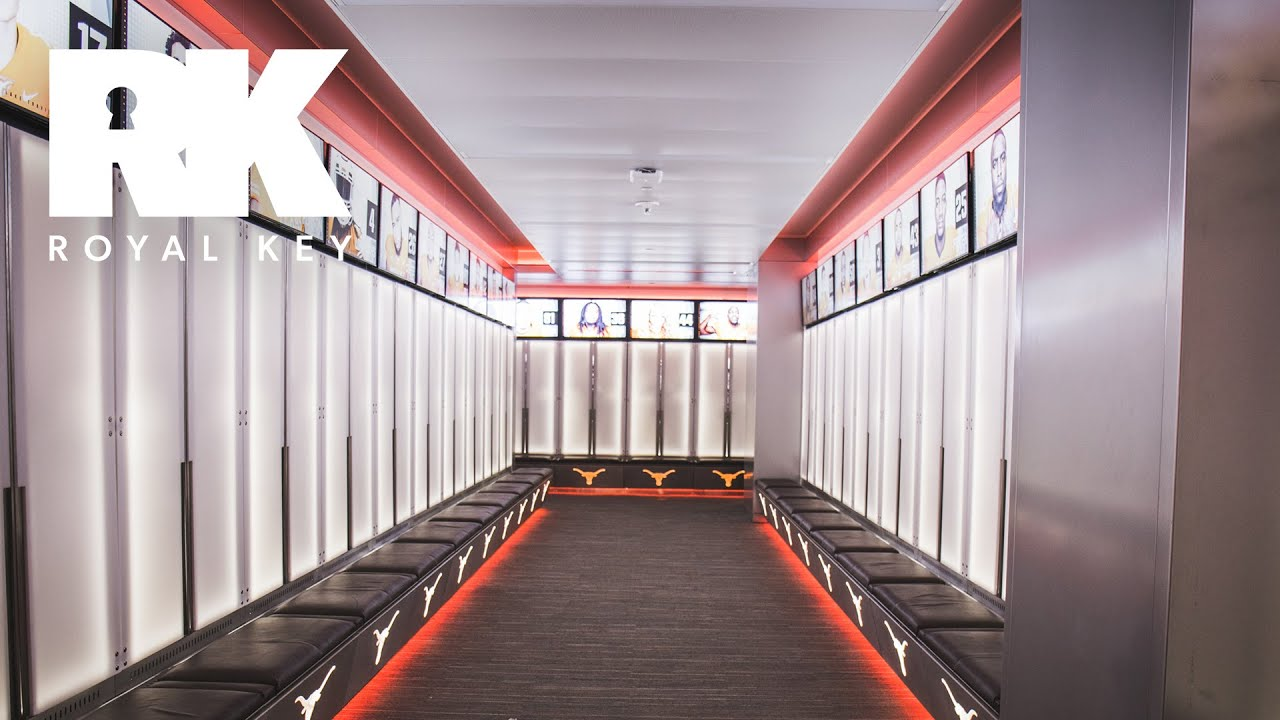 new product ec15c d5c1a We Toured the TEXAS LONGHORNS' INSANE FOOTBALL Facility & Sneaker Equipment  Room | Royal Key