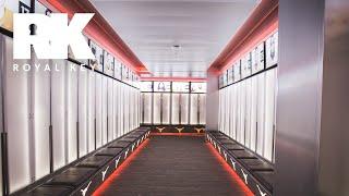 We Toured the TEXAS LONGHORNS' INSANE FOOTBALL Facility & Sneaker Equipment Room | Royal Key