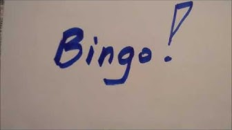 Bingo-Bingomaschine