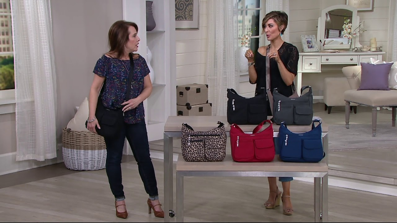 Baggallini Everywhere Bag With Wristlet On Qvc