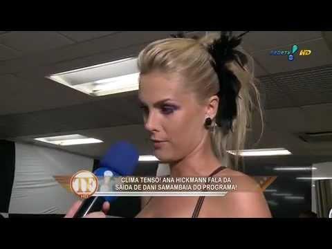 Ana Hickmann fala sobre Chris Flores,Carnaval,Dani Souza,..Em entrevista ao Tv Fama  ( 06 02 12 )