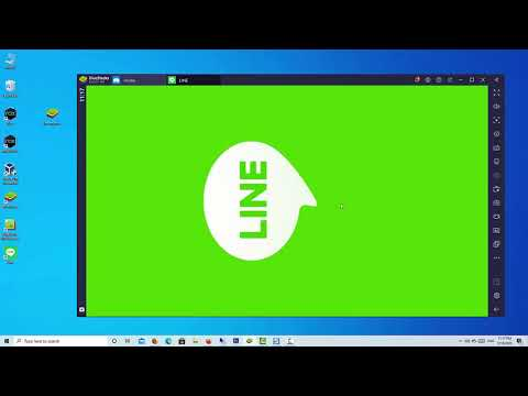 How To Install LINE on PC | LINE For Windows 10