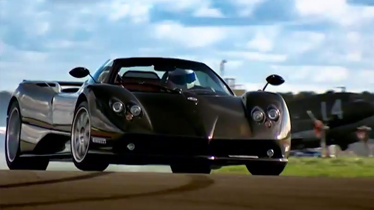 Pagani Zonda: Captain Slow Goes Fast HQ | Top Gear | BBC - YouTube