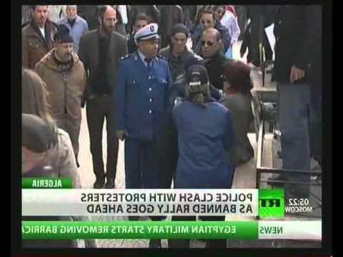 NWW World-News 13.02.2011 MEDIA-FAKE-PROTESTE@ALGERIA