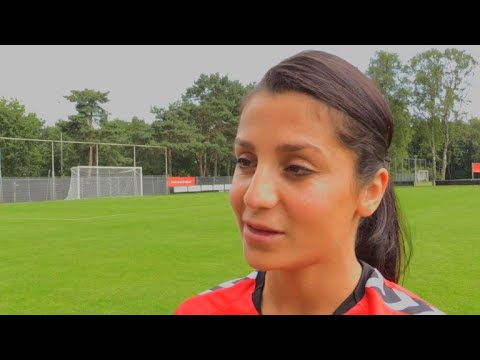 Afghan-born Danish footballer wants to promote sport at home