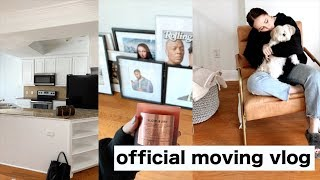 OFFICIAL MOVING VLOG! new house, new decor and more!