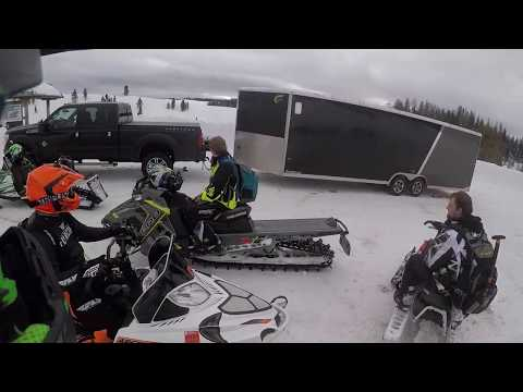 Wyoming Snowmobiling Trip 2018 (Togwotee)