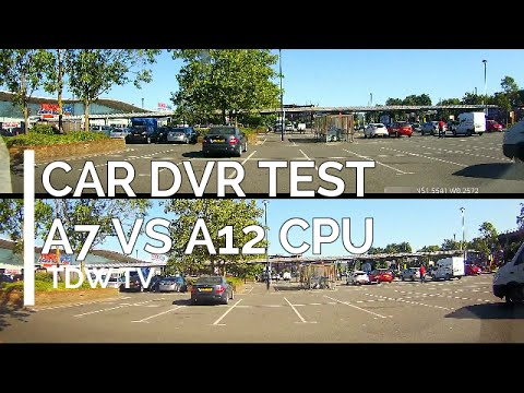 Car DVR Test - A7 DVR CPU vs A12 DVR CPU Test - Daytime London thumbnail