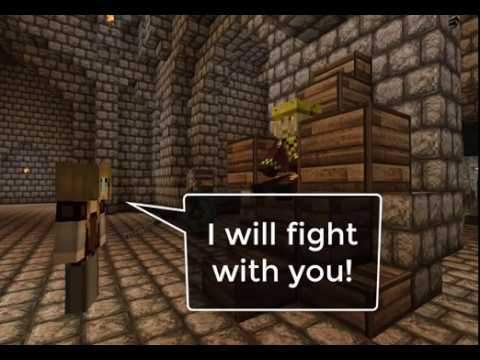 Minecraft   Battle Of Helm's Deep   LOTR Mod