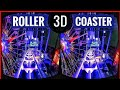 Best VR Top 2 Roller Coaster 3D VR Videos 3D SBS for VR BOX 3D not 360 VR