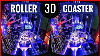 Best VR Roller Coaster 3D VR Videos 3D SBS [Google Cardboard VR Box 3D 360] Virtual Reality 3D