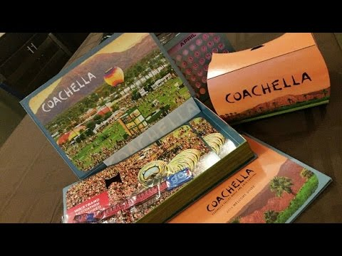 Coachella 2016 Ticket Package Unboxing - YouTube