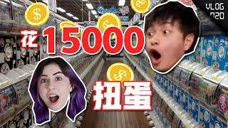花15000在日本买了58个蛋,女朋友一口气全劈开!VLOG 020