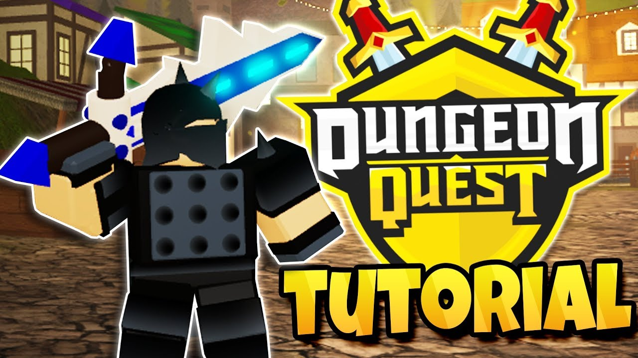 Tutorial How To Play Dungeon Quest Roblox Youtube
