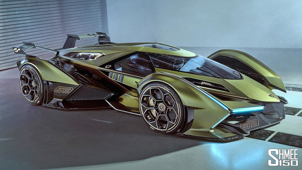 My Reaction to the New Lamborghini V12 Vision GT!