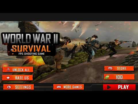 World War 2 Survival Fps Shooting Game For Free