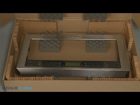 Outer Door Panel - Whirlpool Microwave Oven/Hood Combo  #WMH73521CS6