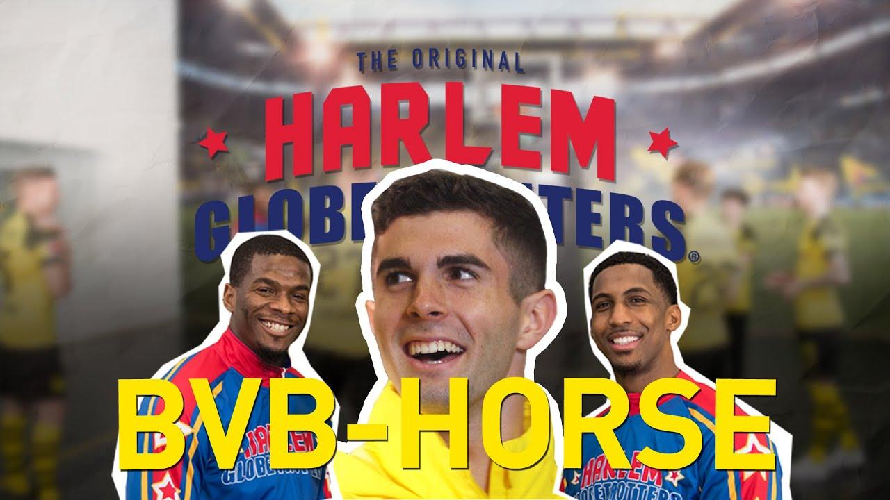 BVB Horse Challenge   Christian Pulisic vs. Harlem Globetrotters
