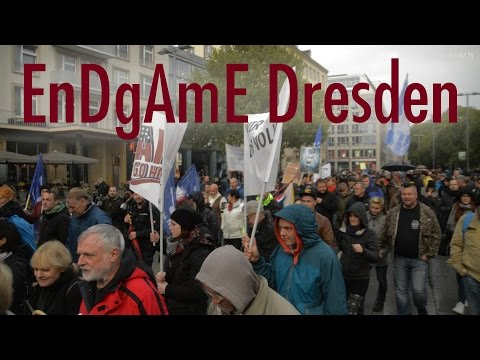 EnDgAmE Demo in Dresden am 17.10.2015
