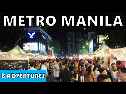 Manila: Makati & Bonifacio Food Fair Nightlife, Philippines