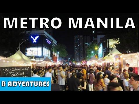 Makati & Taguig Manila, BGC Food Market Nightlife, Philippines S2 Ep1