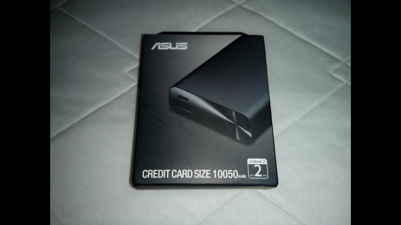 ASUS Zenpower 10050mAh Powerbank (Black) Unbox