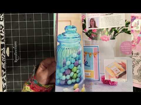 Barnes & Noble crafty stamps & dies magazine haul | dearjuliejulie