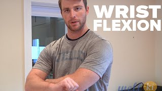Wrist Flexion For Elbow Injury Rehab
