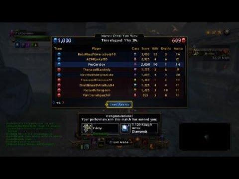 Healer Warlock /// Neverwinter PvP Domination /// pez n chips #1 /// 10 kills match /// mod 16