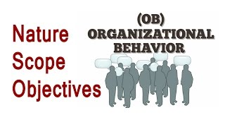 Organisational Behavior Nature and Scope [Hindi]
