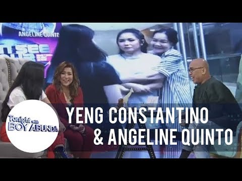 TWBA: Yeng Constantino's close relationship with Angeline Quinto's mother