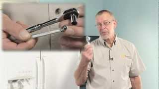 Refrigerator Repair - Door Closure Bearing (Frigidaire Part# 240328201)